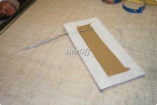 Декор предметов Мастер-класс Скрапбукинг Аппликация Приблуда для записей на холодильник_МК Бумага фото 9