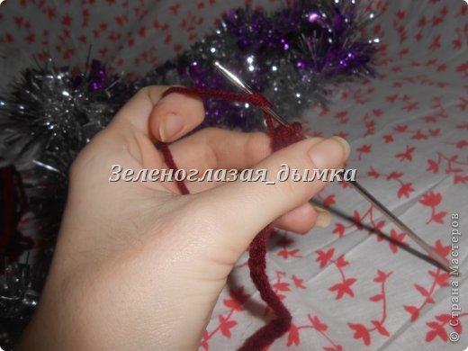Гардероб Мастер-класс Вязание крючком Вязание спицами Шапочка-беретик МК Нитки фото 4