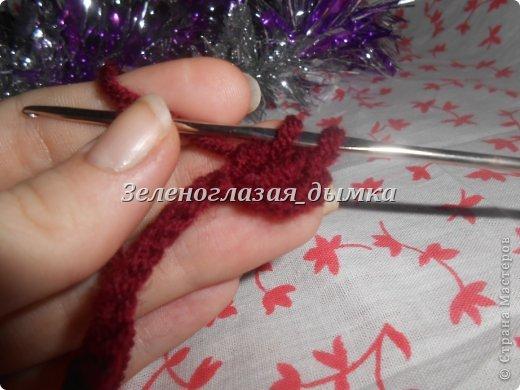Гардероб Мастер-класс Вязание крючком Вязание спицами Шапочка-беретик МК Нитки фото 7