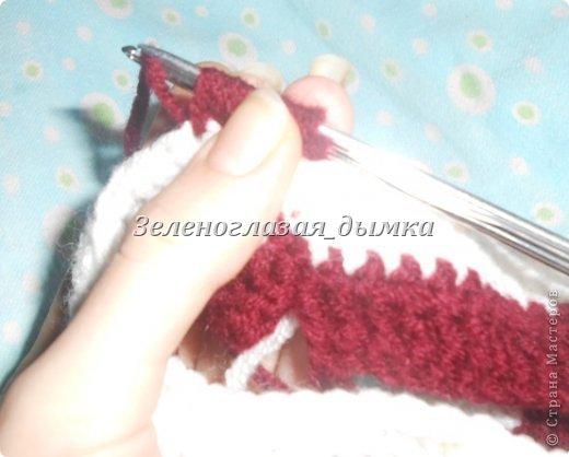 Гардероб Мастер-класс Вязание крючком Вязание спицами Шапочка-беретик МК Нитки фото 14