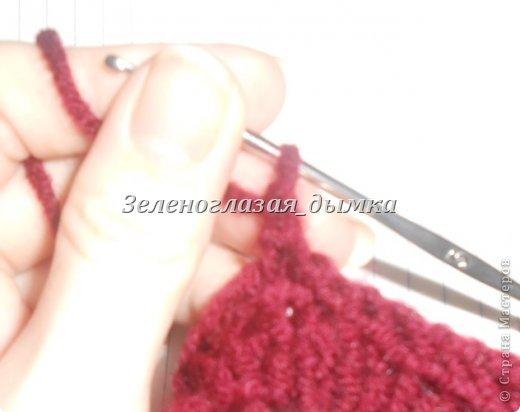 Гардероб Мастер-класс Вязание крючком Вязание спицами Шапочка-беретик МК Нитки фото 24
