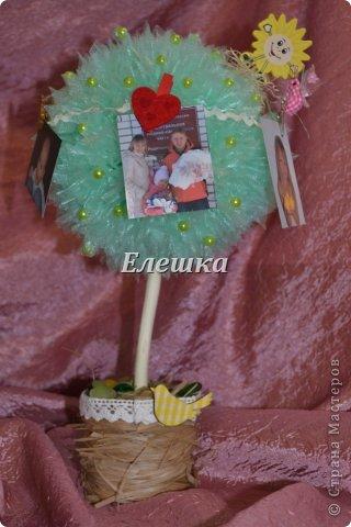 А такое деревце было сделано под заказ на годовщину свадьбы! Прекрасная семья, а детки просто чудо)))) фото 2