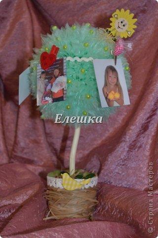 А такое деревце было сделано под заказ на годовщину свадьбы! Прекрасная семья, а детки просто чудо)))) фото 1