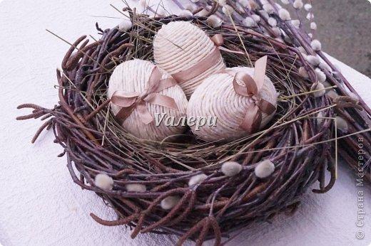 """Гнездо"""" для пасхальных яиц. Идеи, МК"""