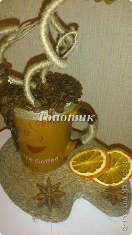 Мой первый кофе-топиарчик - маме на ДР. Ей очень понравилось, и гостям вроде тоже. Даже заказали... фото 7