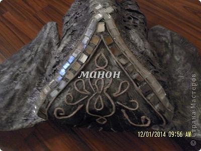 Мастер-класс Папье-маше МК по слону Бумага газетная Гипс фото 11