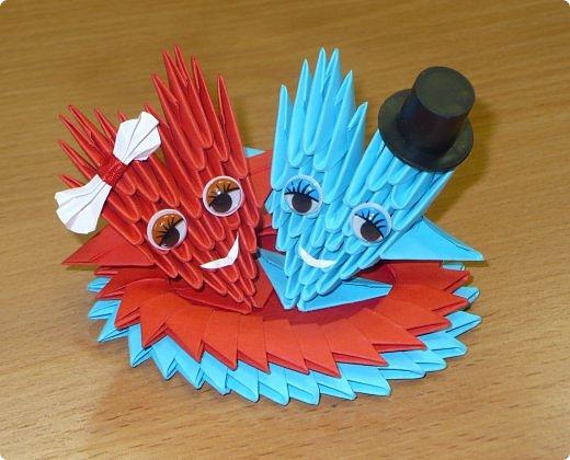Валентинов день Оригами