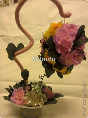 Цветочная композиция к 14 февраля для девушки моего сына. фото 3