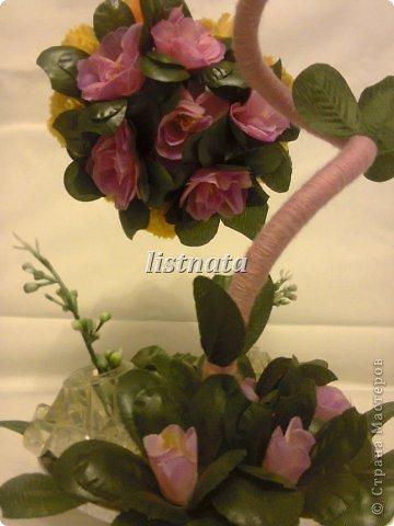 Цветочная композиция к 14 февраля для девушки моего сына. фото 4