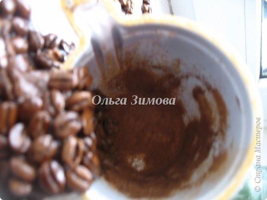 Картина панно рисунок Мастер-класс 23 февраля 8 марта День рождения Ассамбляж Панно  Кофейный аромат МК Кофе фото 14