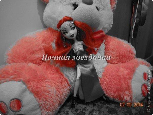 """Всем приветик!!!Мы с моими куклами решили поучаствовать в замечательном конкурсе """"Моё шикарное платье"""" . Я сделала несколько платьев. Вот первое: фото 3"""