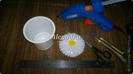 Мастер-класс Поделка изделие Вырезание МК Ромашки Бутылки пластиковые фото 2