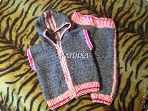 шапулька для маленькой принцесски 4 месяцев) фото 4