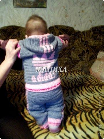 шапулька для маленькой принцесски 4 месяцев) фото 5