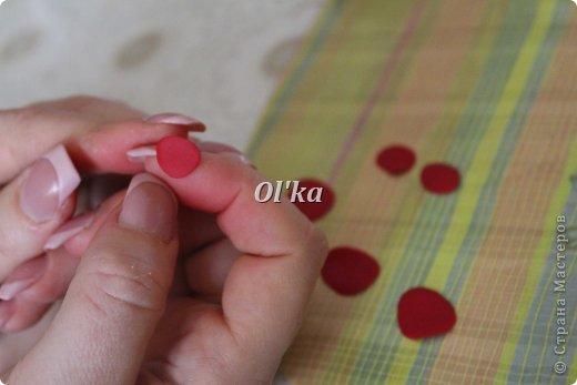 Здравствуйте, Мастерицы!!! Сегодня я хочу поделиться с Вами тем, как я делаю свои розочки из пластики. На сходство с живой розой не претендую. :))) Начнем??? фото 3