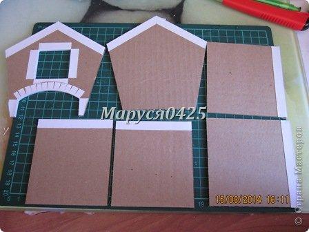 Чайный домик мастер класс из картона шаблоны фото