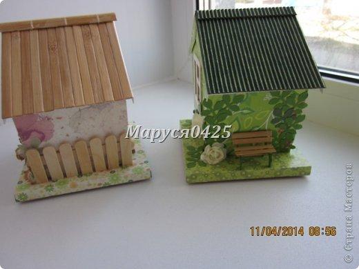 Мастер-класс Поделка изделие День рождения Картонаж Чайные домики и что-то вроде МК Бумага Картон фото 2