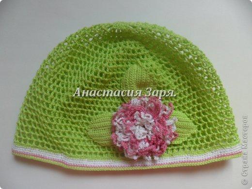 мои новые шапочки и повязки. фото 8