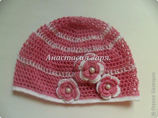 мои новые шапочки и повязки. фото 4