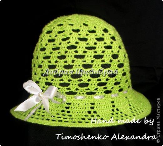 летние шляпки и шапочки