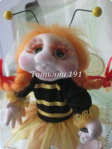 Жужа-моя первая каркасная кукла.