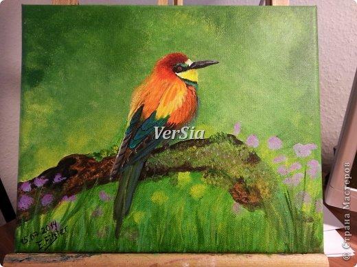 Райская птица для моей второй мамы