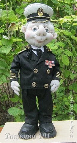 Сшила на юбилей для капитана 2 ранга вот такого красавца. фото 2