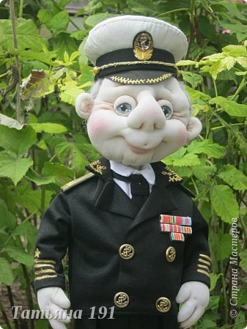 Сшила на юбилей для капитана 2 ранга вот такого красавца. фото 1