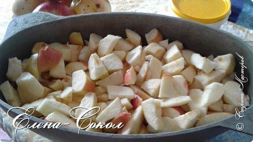 Всем привет!Здравствуйте жители Страны Мастеров!Хочу поделится с вами нашим   любимым семейным рецептом (яблоки в сметане)Это очень вкусное лакомство как для детей,так и для взрослых.Готовится очень легко и просто..Всем нравится моим домочадцам и вот попробуйте и ВЫ!Может я Америку не открываю....но все же)) фото 3