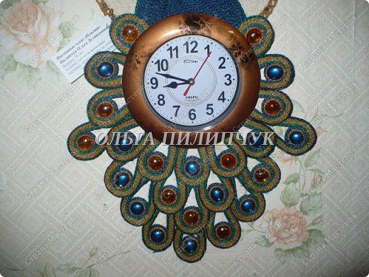 """Настенные часы """"Павлин"""" фото 3"""