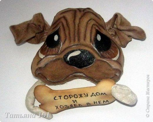 Собачки выполнены из плюша и велюра с мордочками в технике грунтованный текстиль по мк Л.Набиуллиной. фото 14